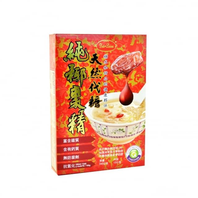 天然代糖純椰棗精。(業者提供)