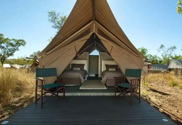 澳洲國家公園也能豪華露營!(業者提供)