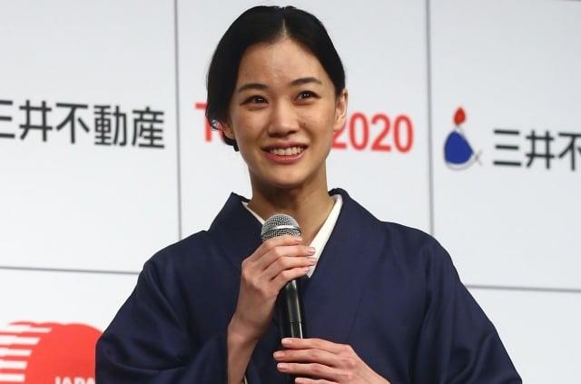 日本女星蒼井優,圖為資料照。(Getty Images)