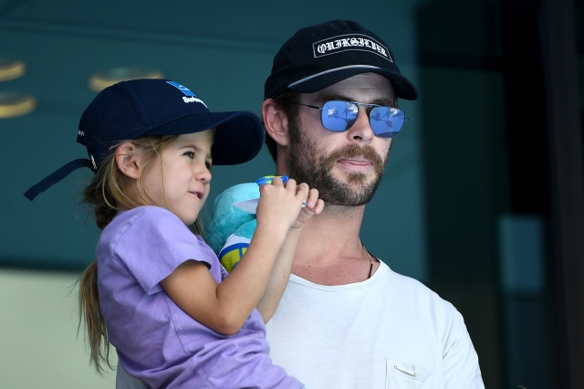 克里斯漢斯沃與女兒。圖為資料照。(Getty Images)