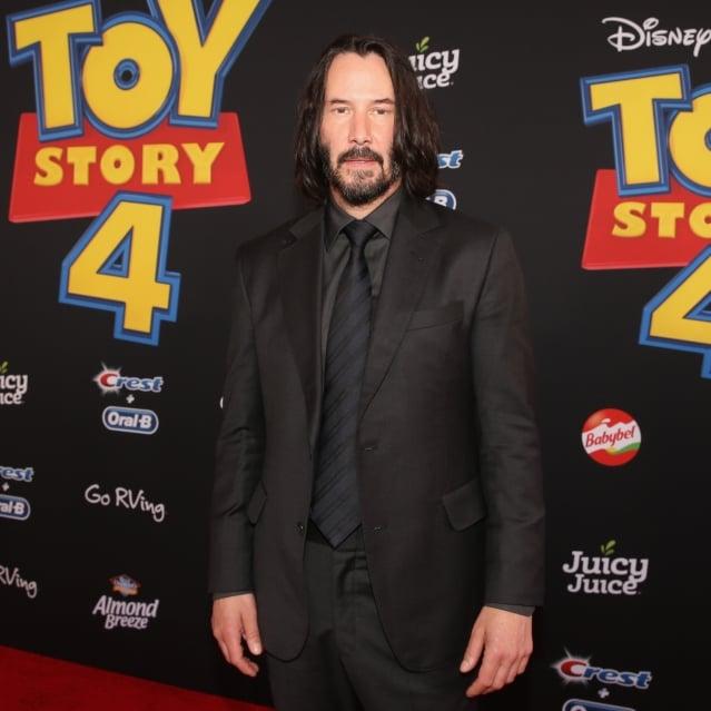 基努李維為《玩具總動員4》獻聲。(Getty Images)
