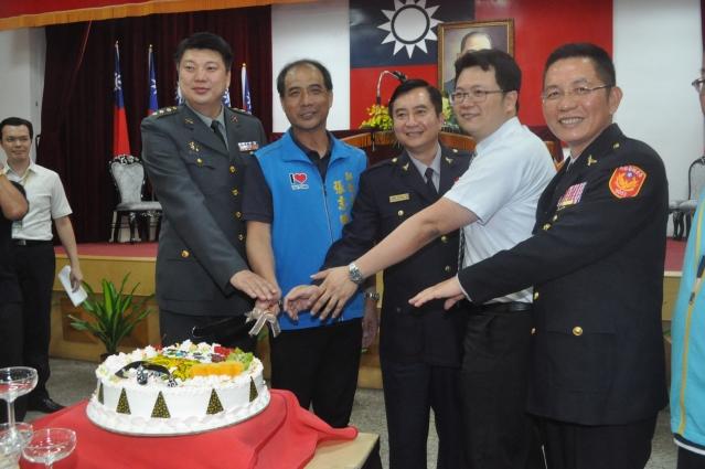 台東縣警察局12日舉行警察節慶祝大會。(台東縣政府提供)