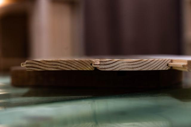 尚揚家具一律採用採用构曹式拼裝,較為堅固。