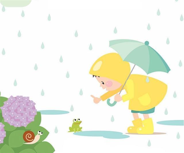雨是情緒化的小孩,哭鬧的聲音劈里啪啦,忽大忽小,難以捉摸。(123RF)