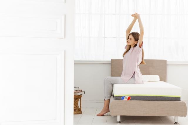 正確的床枕除了有助睡眠品質的穩定,也是能否進入深睡期的關鍵。(品牌提供)