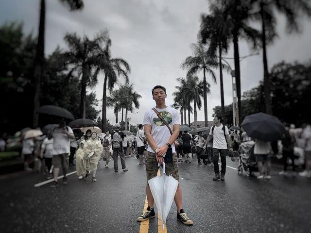 台灣人將自己在大陸遭到言論審查的過程公布,希望台灣人因此多認識中國大陸的另一面。(董易儒提供)