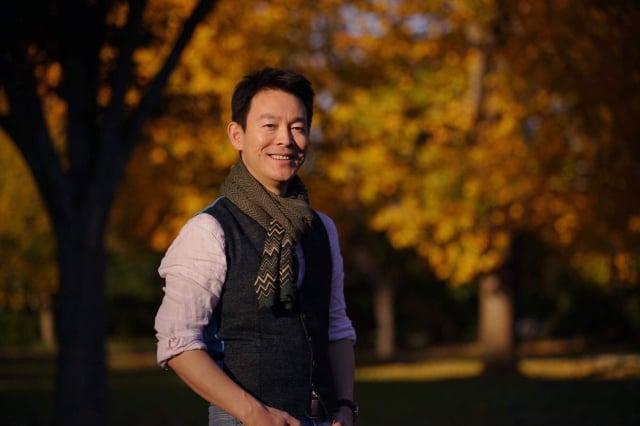 電影「歸途」男主角姜光宇。(新世紀影視提供)