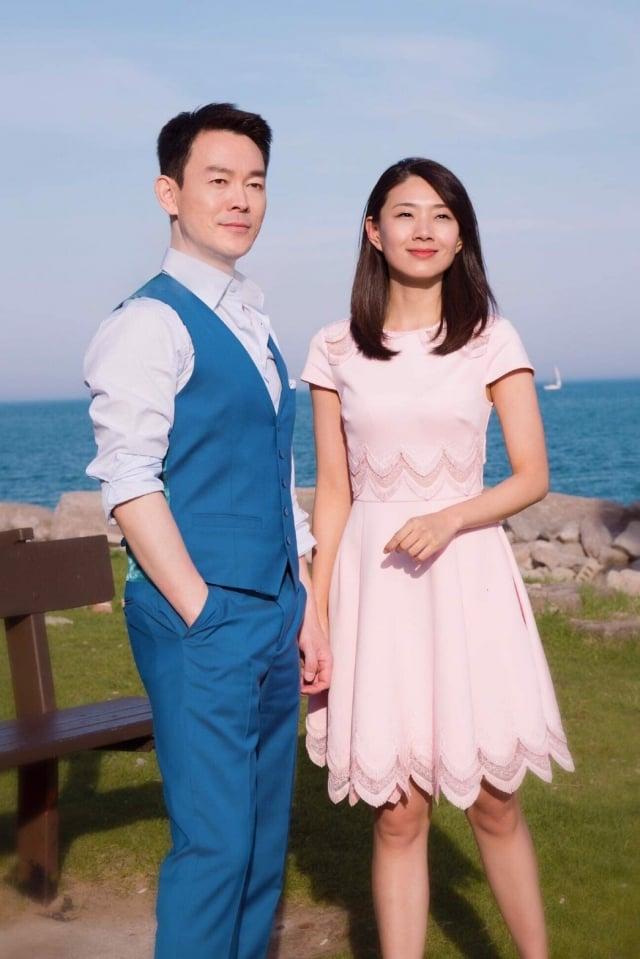 男主角 姜光宇、女主角 鄭雪菲。(新世紀影視提供)