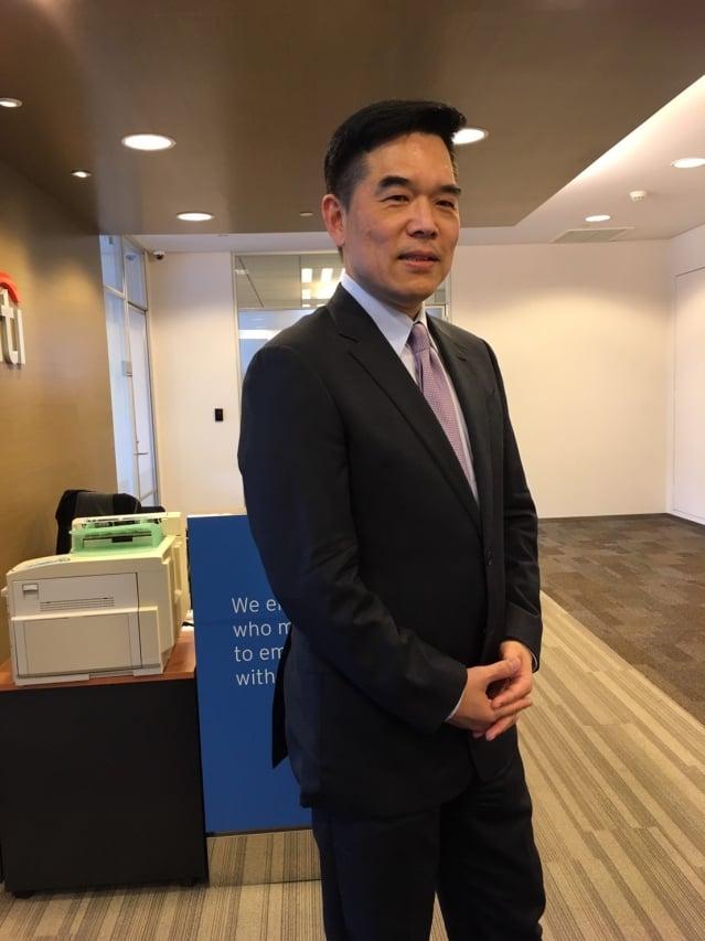 花旗(台灣)銀行財富策劃諮詢部資深副總裁曾慶瑞(記者莊麗存/攝影)