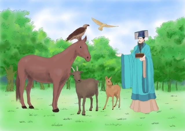 華夏大地,中華民族的先祖在三千年以前,就有「網開三面」大赦鳥獸的歷史,這位道德至高的精神領袖就是商朝的開國君主商湯。(圖/志清)