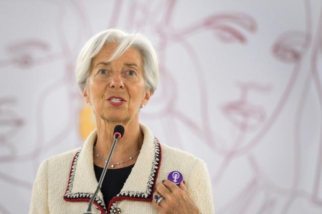 歐盟領袖提名現任IMF總裁拉加德(Christine Lagarde)擔任歐洲央行(ECB)總裁。(FABRICE COFFRINI/AFP/Getty Images)