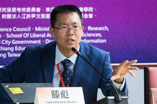 美國紐約大學訪問學者滕彪表示,中共現在不只針對維權律師,迫害範圍已延伸至網民、大學生、記者、各種宗教與西藏民眾以及維族人。圖為資料照。(記者陳柏州/攝影)