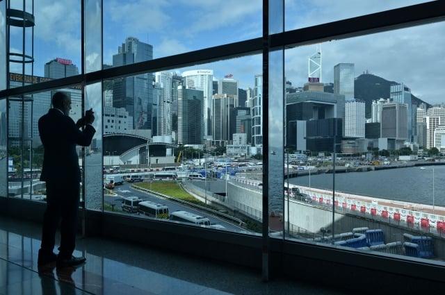 對於中共打算在香港建構社會信用評分系統,中研院社會學研究所副研究員林宗弘9日表示,若屬實,將導致香港民眾對北京政府更強的不信任或更嚴重的抗議後果。圖為香港一景。(Getty Images)