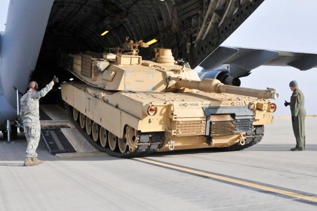 美國正式批准售台108輛M1A2T戰車,圖為示意圖。(美國陸軍提供)