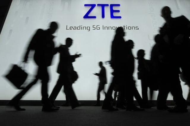美國指控天津大學教授張浩從美國公司竊取通訊技術,並轉給中國中興通訊。中興通訊示意圖。(Getty Images)