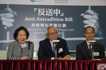 調查反送中民情 港基金會募資寫報告