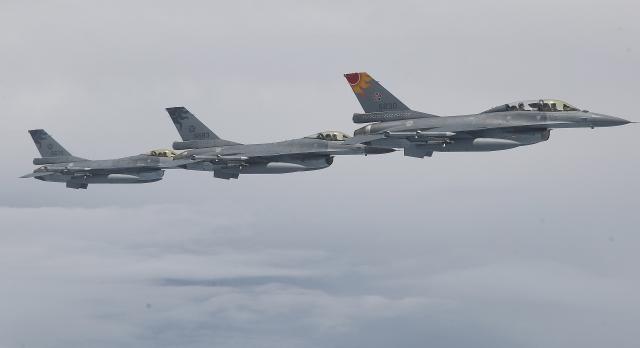 圖為我國空軍F-16戰機。(中央社)