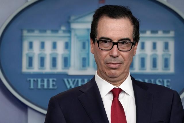美國財政部長梅努欽(Steven Mnuchin)表示,美中貿易戰仍存「複雜問題」,但華為不是關鍵點。(Chip Somodevilla/Getty Images)