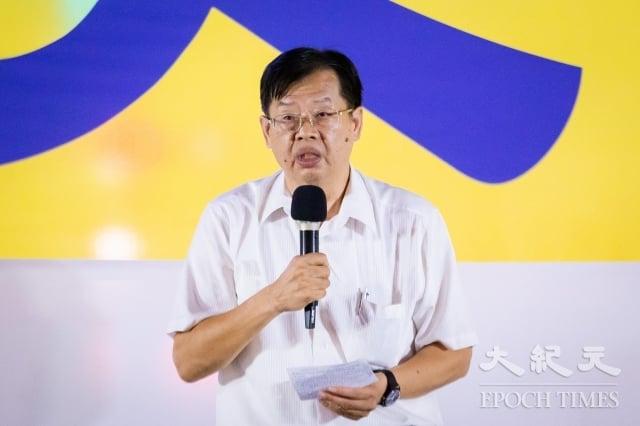 人權律師魏千峰:他早在2002年時,就開始關注、聲援法輪功與幫助法輪功打官司而遭受迫害的中國人權律師,當時台灣的人權團體、律師界就已下定決心,只要中共迫害法輪功、迫害人權一天,台灣的律師界就為法輪功聲援一天,時至今日已堅持20年。(記者陳柏州/攝影)