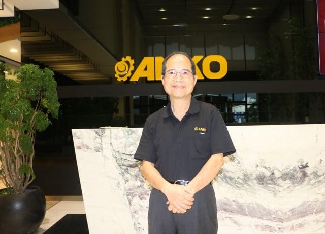 安口食品機械董事長歐陽禹。(攝影/莊宜真)