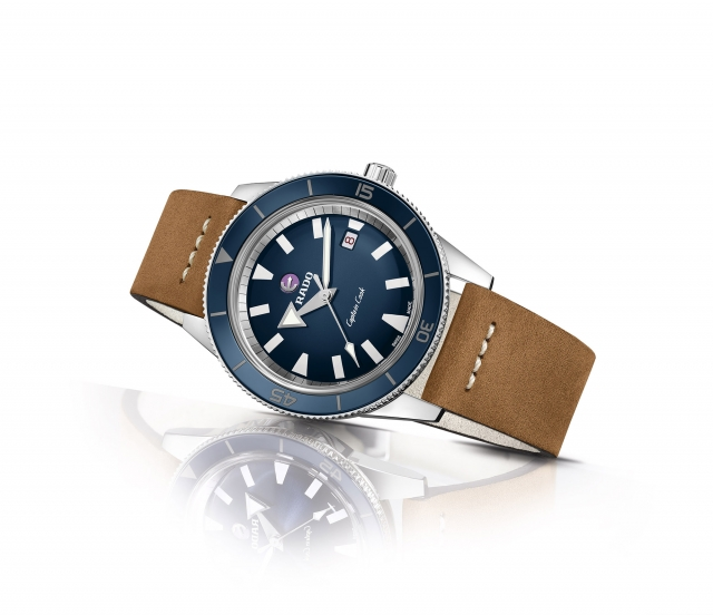 Captain Cook庫克船長自動機械復刻腕錶R32505205。(業者提供)