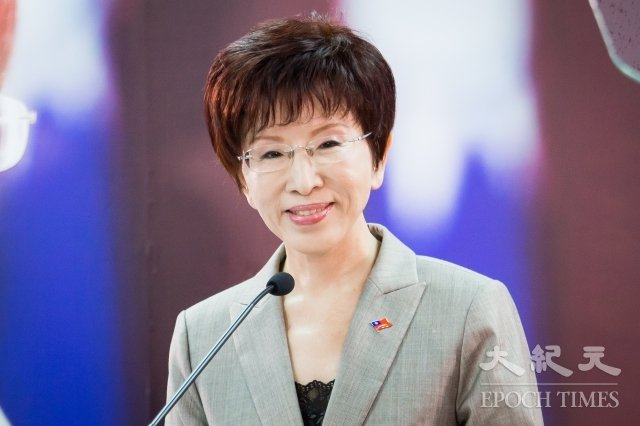 前國民黨主席洪秀柱已將戶籍遷到台南市,打算在2020年大選挑戰第6選區民進黨現任立委王定宇。圖為資料照。(記者陳柏州/攝影)