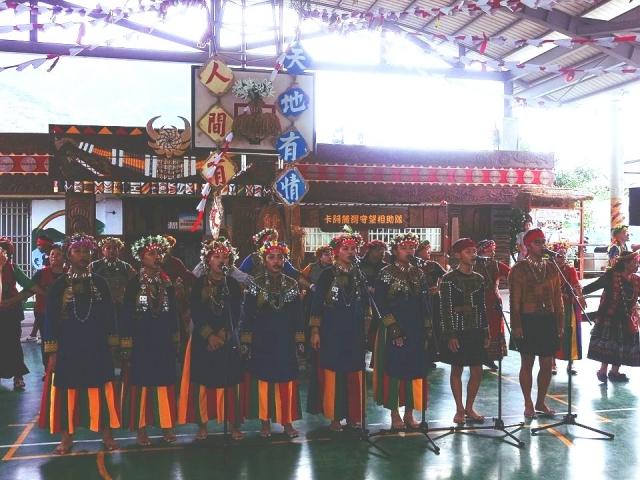 台東金峰鄉公所11日在嘉蘭村部落廣場,舉行莫拉克風災10週年紀念活動。(台東縣政府提供)
