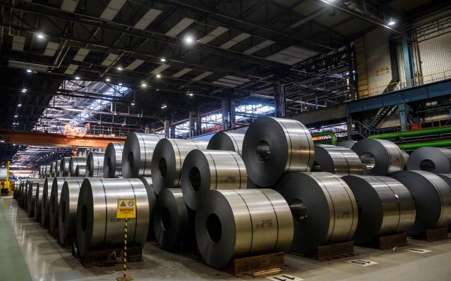 歐盟8月12日公告,將針對台灣、中國及印尼熱軋不鏽鋼板和捲材啟動反傾銷調查。(Getty Images)