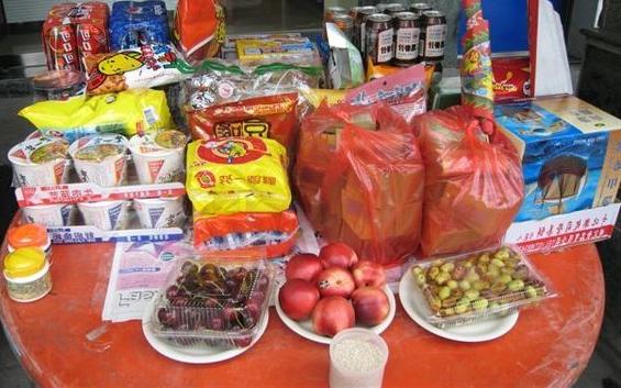 黃曆七月份是傳統普渡節日,普渡採購最重要的就是進行購買量管控。(嘉義市政府提供)