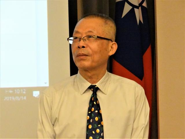 監察院秘書長傅孟融。(記者袁世鋼/攝影)