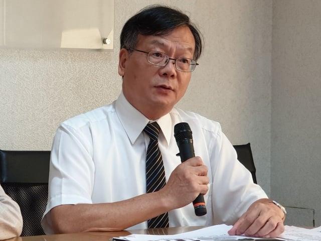 內政部營建署主任祕書王東永。(記者袁世鋼/攝影)