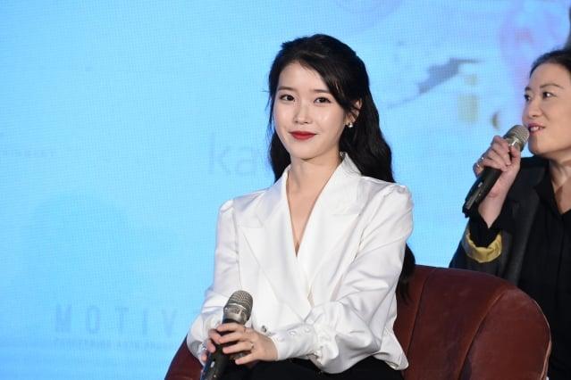 韓國人氣歌手IU(李知恩),圖為資料照。(大紀元資料室)