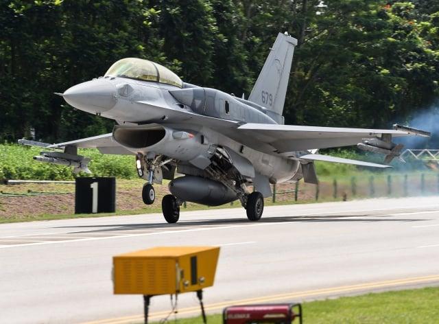 美准售台F-16V 蔡英文:新空軍起飛