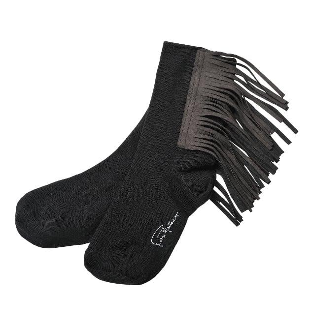 流蘇短襪。(業者提供)