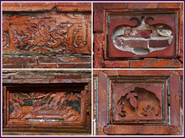 磚工雕琢之精美聞名,堪稱是清末文教建築的傑出作品。(攝影/鄭清海)