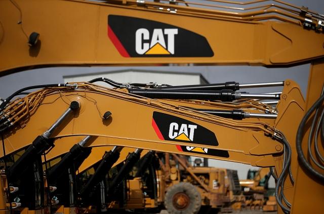 生產重型機具的開拓重工(Caterpillar)第二季的每股盈餘較去年同期減少9%。示意圖。(Getty Images)