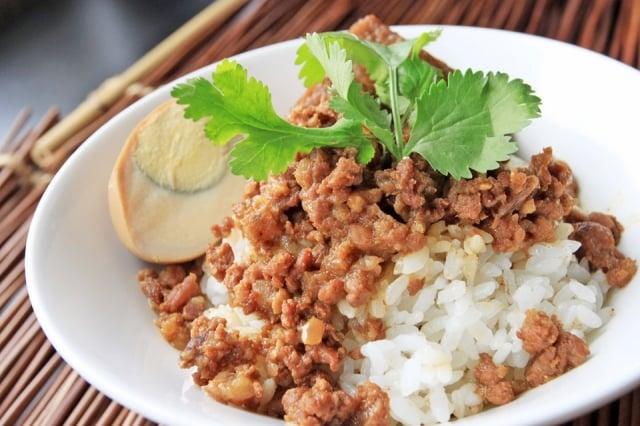 七里坡紅藜肉燥飯,入選台灣「10大特色國飯」。