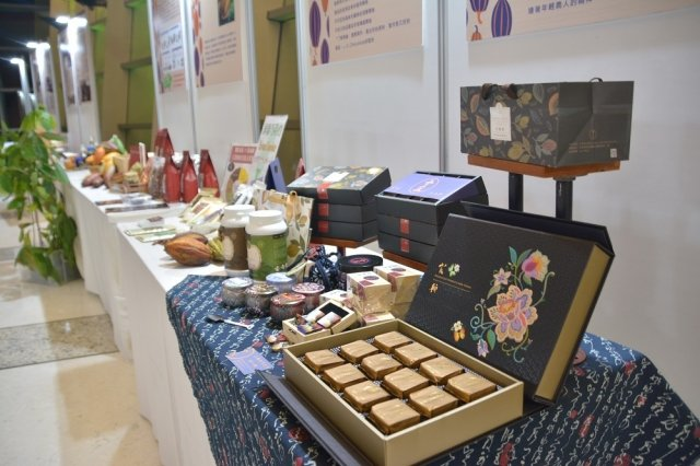 主辦城市屏東縣以「屏東可可‧台灣巧克力」為主題,陳展可可產業六級化努力的成果。