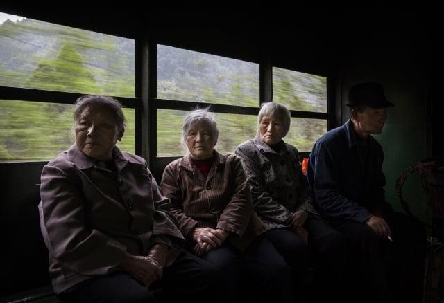 中國目前正面臨著日趨嚴重的人口老齡化問題。示意圖。(Getty Images)