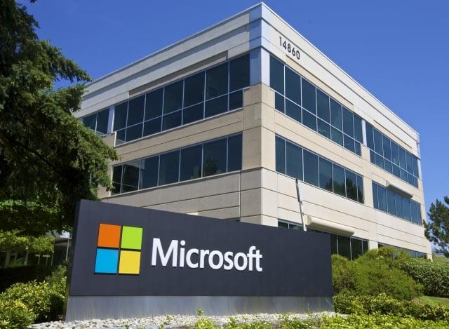 2018年6月4日晚上,美國科技公司微軟宣布以75億美元的股票收購GitHub。(AFP)