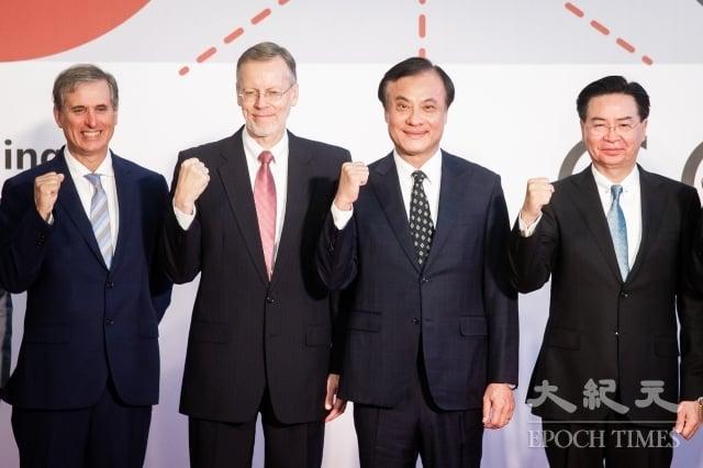 台灣民主基金會、美國在台協會10日合辦「全球合作暨訓練架構(GCTF)培養媒體識讀以捍衛民主工作坊」。(記者陳柏州/攝影)