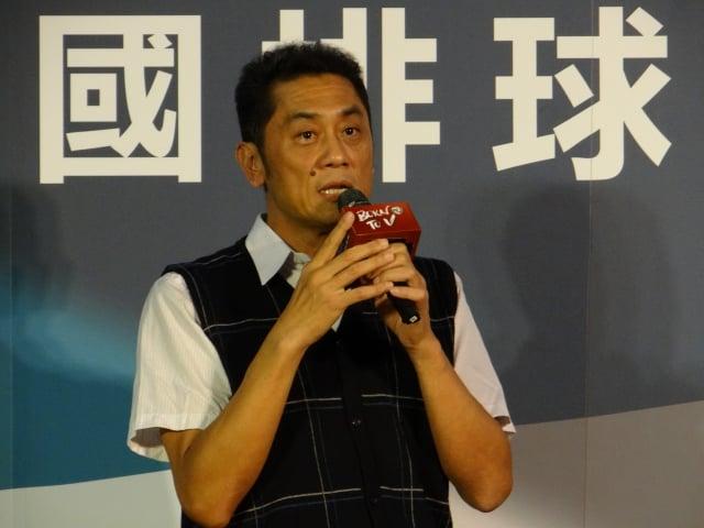 前國家隊選手、教育部體育署競技運動組科長周德倫(記者袁世鋼/攝影)