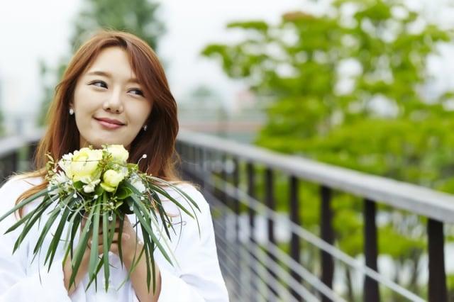面帶微笑、保持善良的心,正能量能創造好姻緣。(Fotolia)