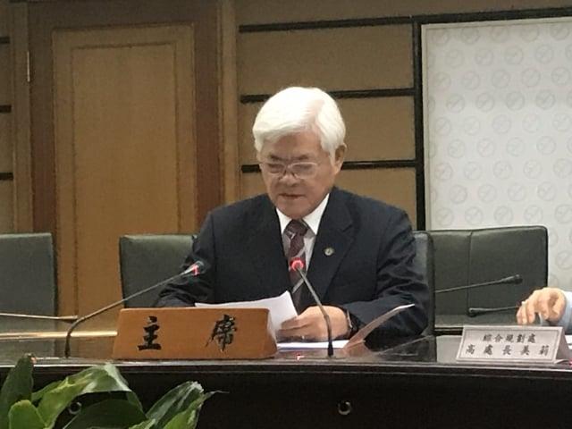 中選會主委李進勇強調,選舉是一件非常嚴肅的工作。