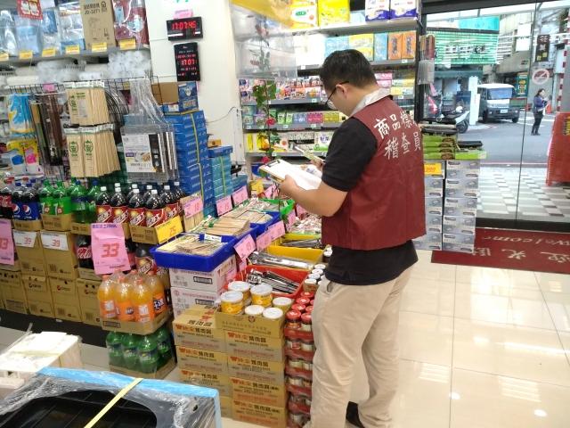桃園經發局針對各種開學、應節商品進行抽查,發現有20%的商品標示不合格。