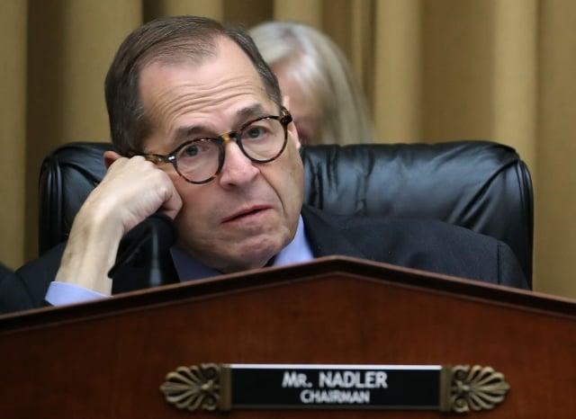 美國聯邦眾議院司法委員會主席納德勒9月12日主持一項與彈劾川普總統有關的決議案。(Getty Images)