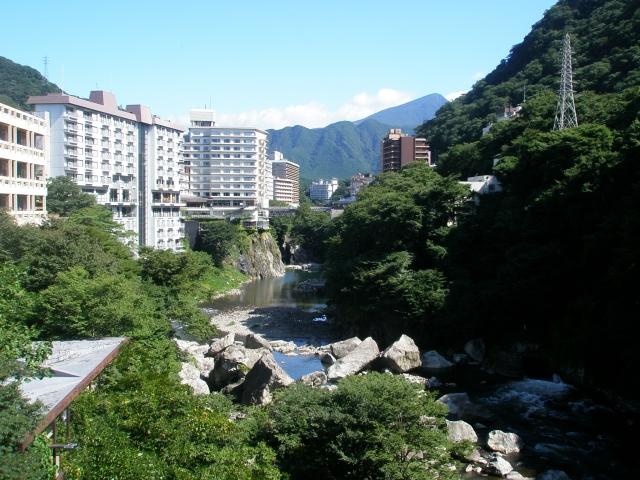 鬼怒川溫泉街。(維基百科)