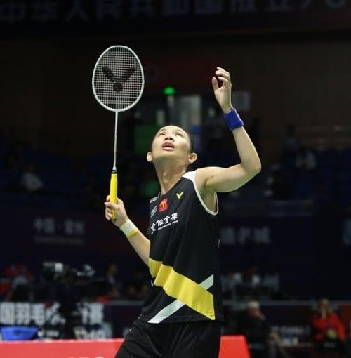 台灣一姊戴資穎拍落日本大堀彩,晉級女單8強。