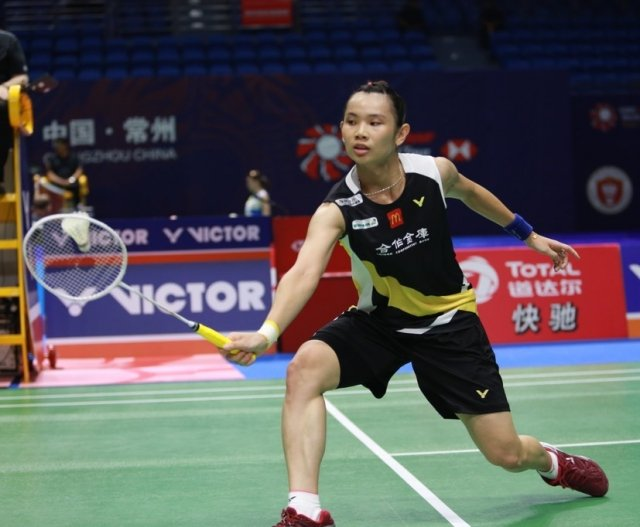 台灣羽球一姊戴資穎9月19日第二輪以21:19、21:14拍下世界排名26的日本女將大崛彩,8強就位。