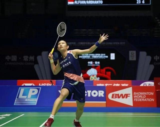 台灣羽球一姊戴資穎9月20日拍落泰國布莎南晉級4強,9月21日將對決陳雨菲。(勝利提供)